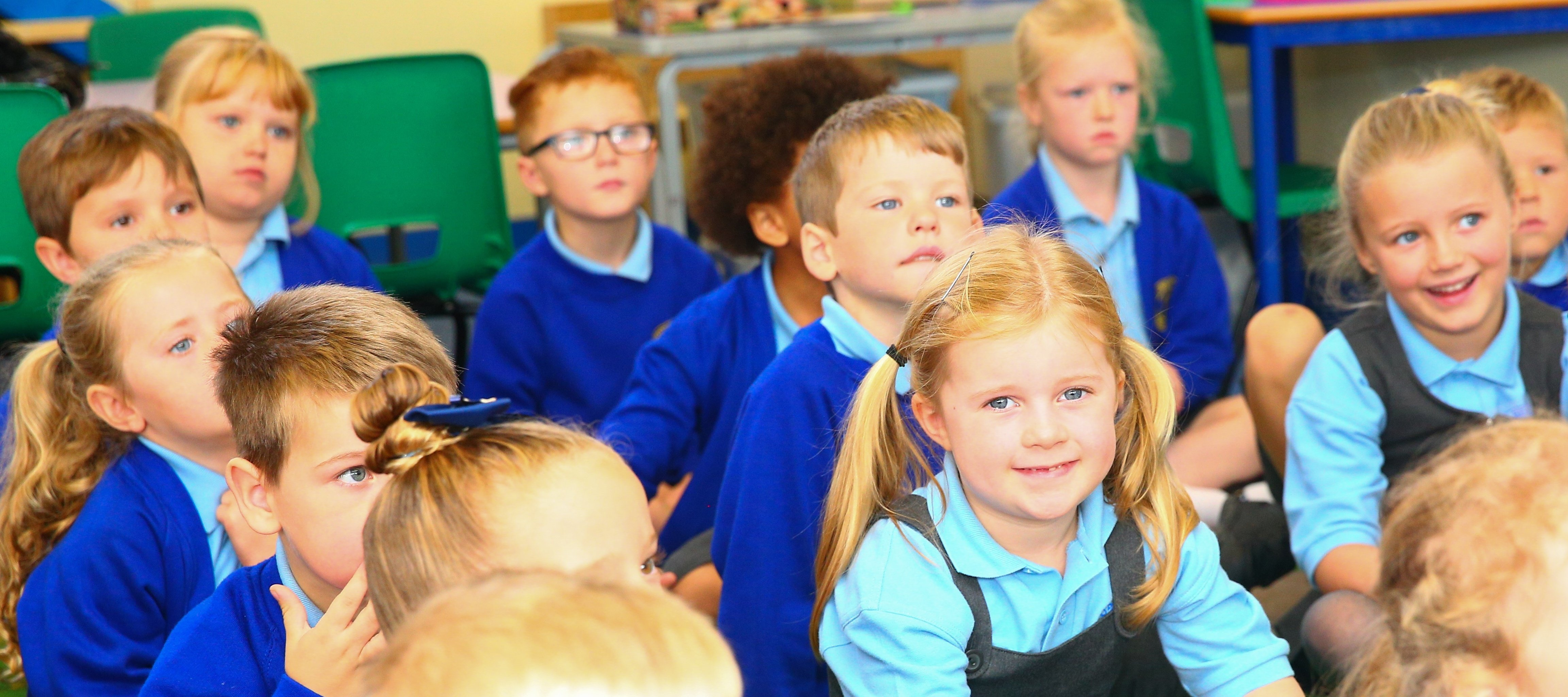 Our school is full of fun and laughter, and our children are guided to achieve their very best.