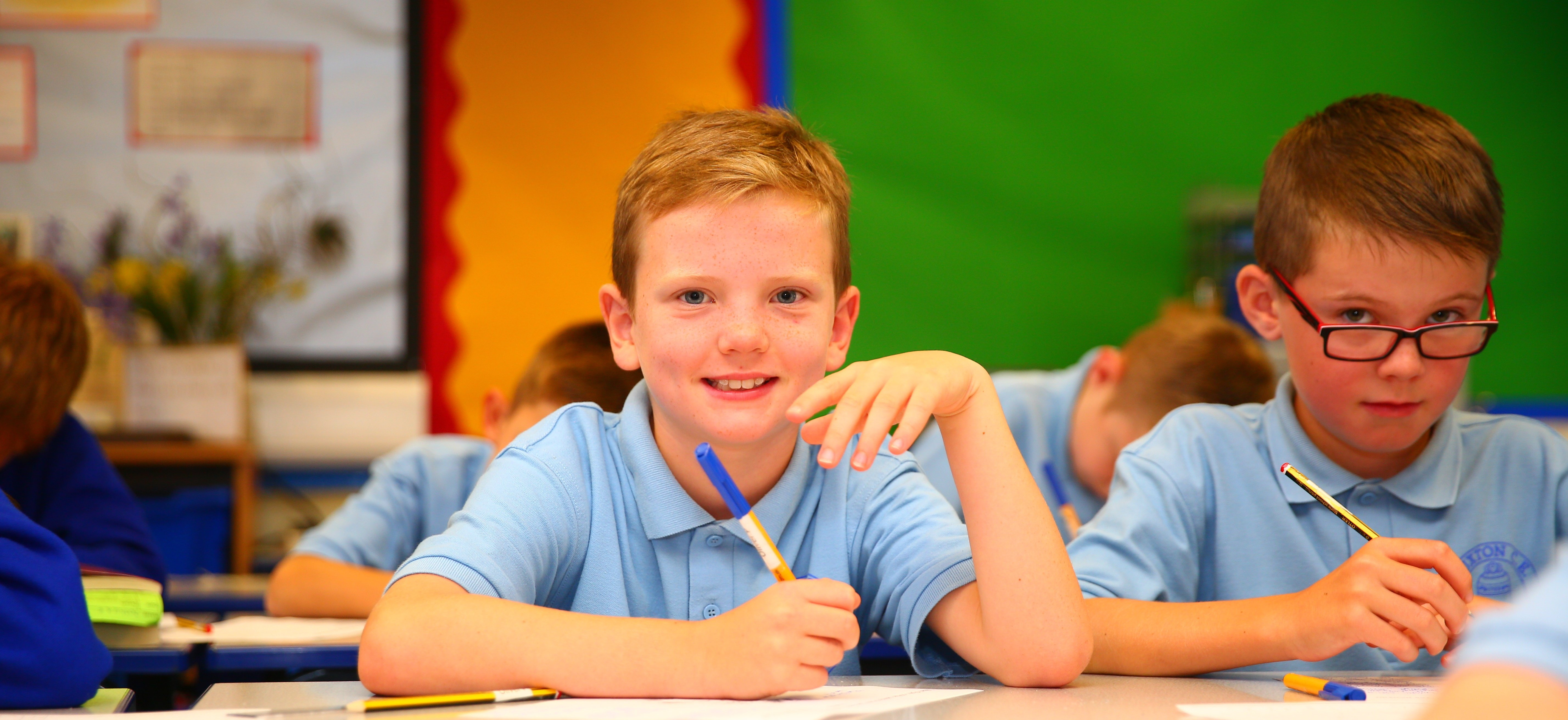 We encourage each and every child to achieve their full potential…